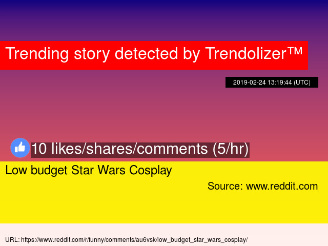 Low Budget Star Wars Cosplay