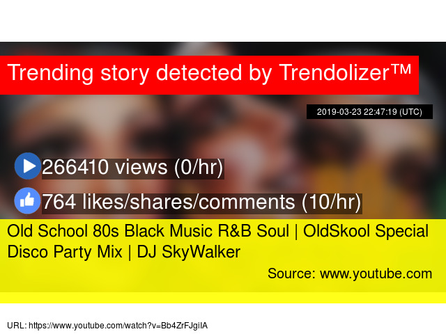 Old School 80s Black Music R&B Soul | OldSkool Special Disco Party