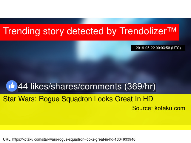 Star Wars: Rogue Squadron Looks Great In HD