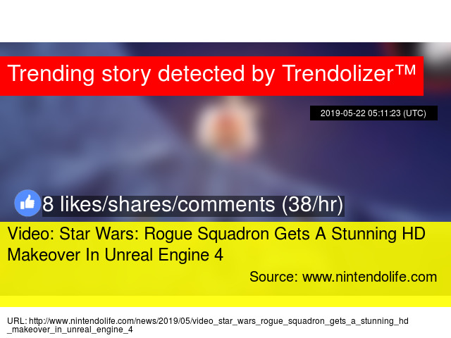 Video: Star Wars: Rogue Squadron Gets A Stunning HD Makeover