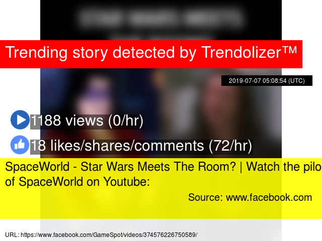 SpaceWorld - Star Wars Meets The Room? | Watch the pilot of