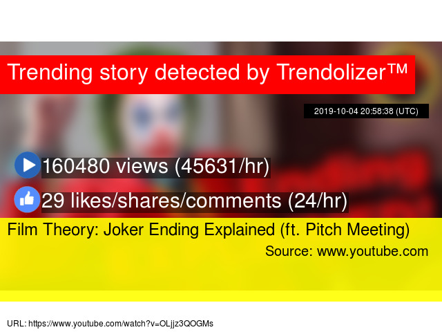 Film Theory Joker Ending Explained Ft Pitch Meeting