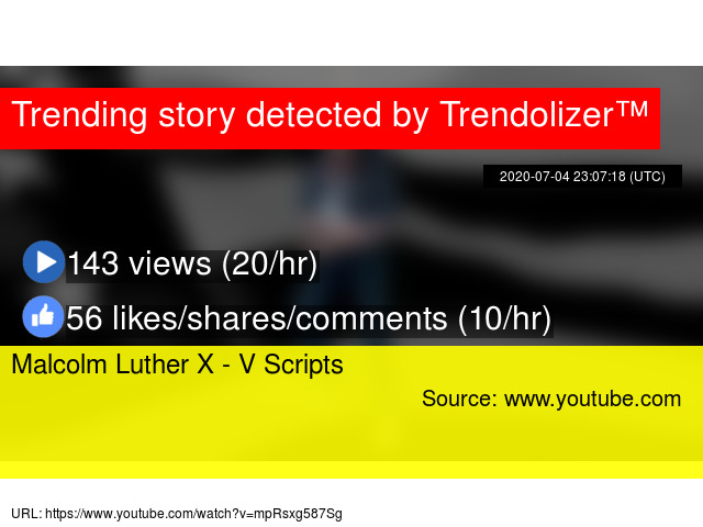 Malcolm Luther X V Scripts
