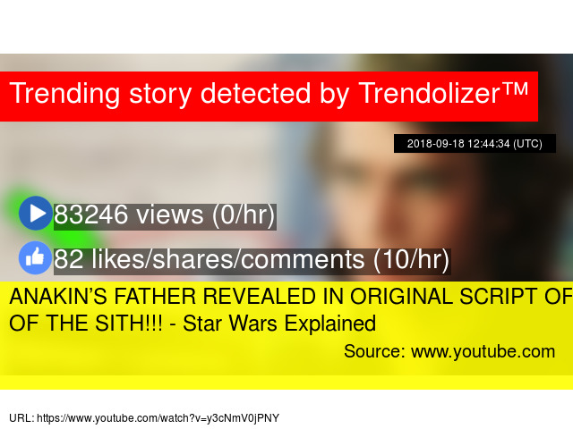 Anakin S Father Revealed In Original Script Of Revenge Of The Sith Star Wars Explained
